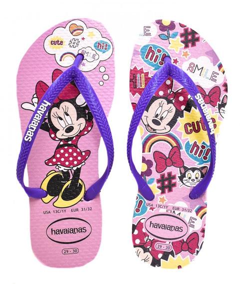Hinelo Havaianas Infantil Menina Disney Cool 4130287