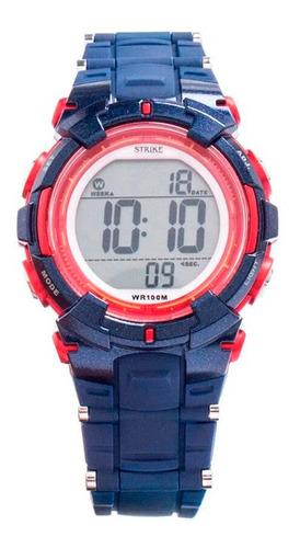 Reloj Strike Watch Resina M1199-0ege-burd Mujer Original