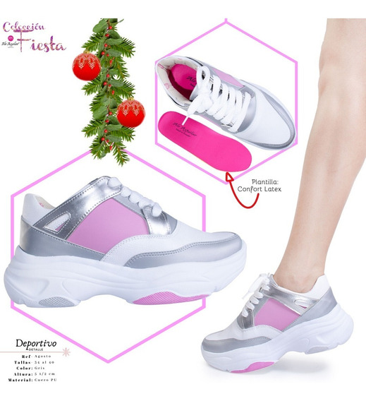 Zapatos Deportivos Para Mujer Tallas Desde 34 Hasta 40