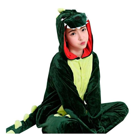 Dinosaurio Kigurumi Mameluco Pijama Cosplay
