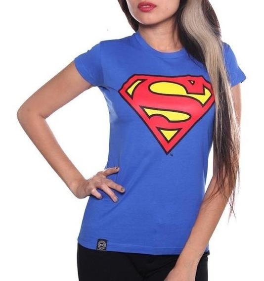 Blusa Logo Superman Original Dc Comics $230