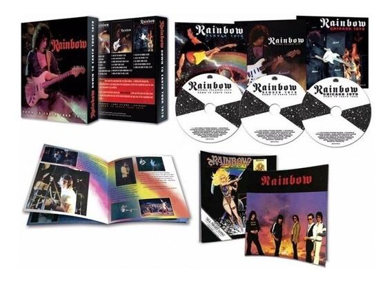 Rainbow Down To Earth Tour 1979 Box 3 Cd + Pua Import Nuevo