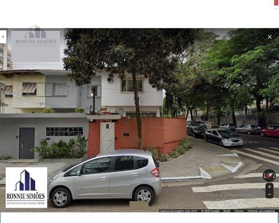Sobrado Comercial Para Locação Indianópolis, 6 Salas, 2 Banheiros, 150 M², São Paulo. - So0226