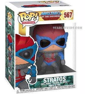 Funko Pop Stratos 567 Masters Of The Universe Orig Scarlet