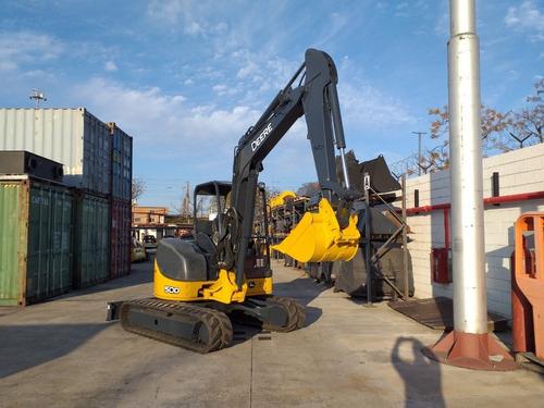 Excavadora John Deere 50d Año 2015 Rops