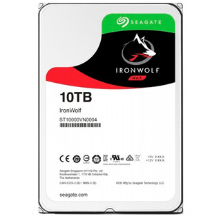 Disco Rigido Seagate Ironwolf 10tb 7200rpm 256 Mb 1