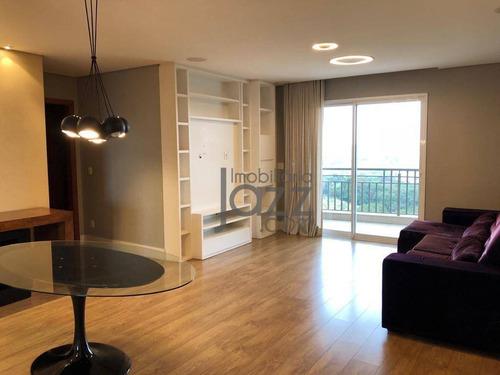 Apartamento Com 3 Dormitórios À Venda, 120 M² Por R$ 790.000,00 - Edificio Rarita - Itatiba/sp - Ap4951