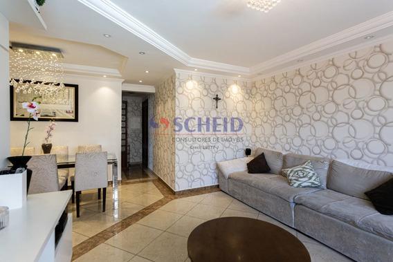 Apartamento Com Lindo Acabamento Em Excelente Localização! - Mr67134