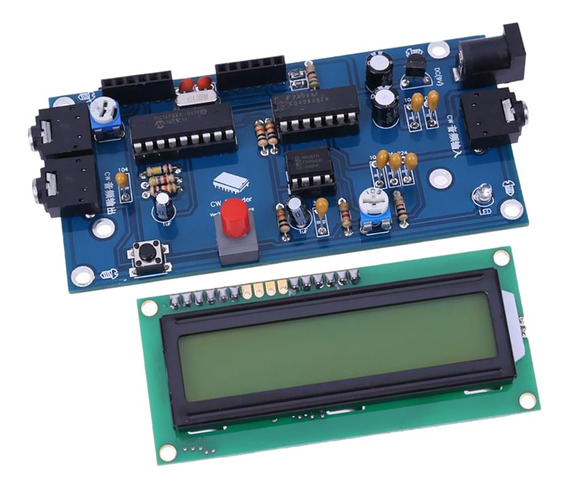 1 Conjunto Morse Code Reader Cw Decodificador Morse Code Tra