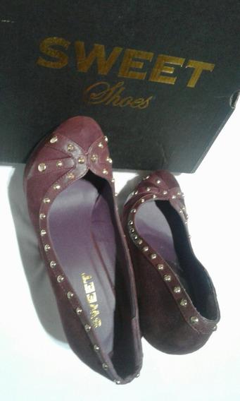 Zapatos Sweet Plataforma Súper Altos Número 40