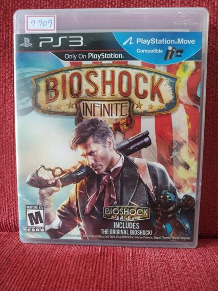 Bioshock Infinite Ps3 Mídia Física Usado R.9909