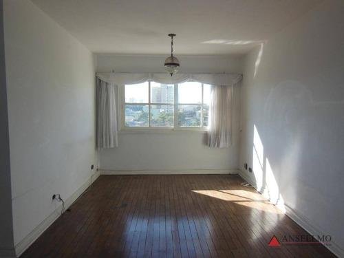 Apartamento Com 3 Dormitórios À Venda, 102 M² Por R$ 420.000,00 - Chácara Inglesa - São Bernardo Do Campo/sp - Ap1390