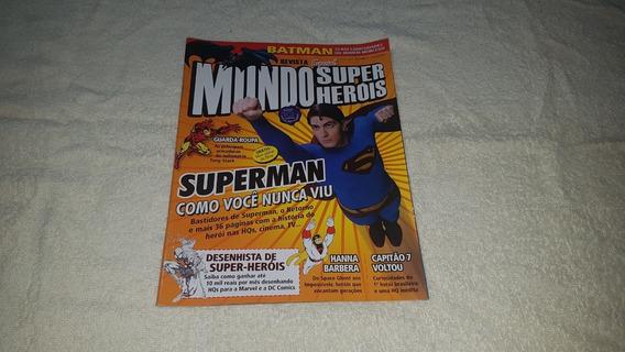 Revista Mundo Dos Super-heróis Nº 1 Ed Europa 2006 Superman