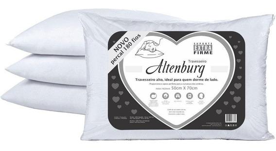 Kit 6 Travesseiro Altenburg Suporte Extra Firme 180 Fios