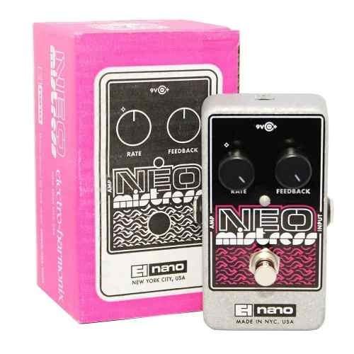 Pedal Electro Harmonix Ehx Neo Mistress Nano Flanger Nyc Usa