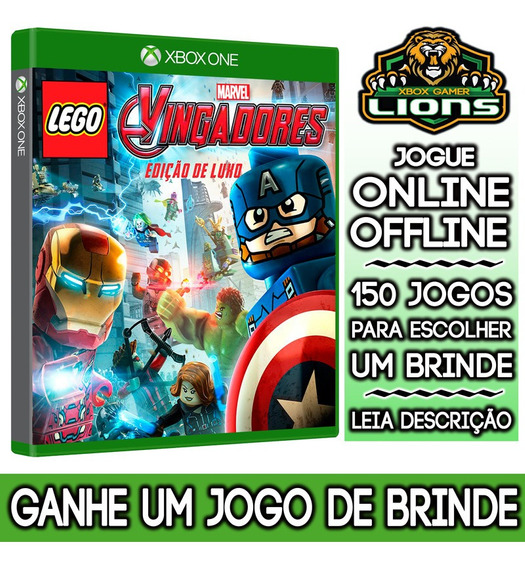 Lego Marvels Avengers Deluxe Edition Xbox One + Brinde