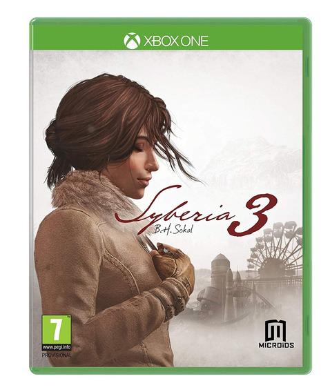 Jogo Lacrado Midia Fisica Syberia 3 Bh Sokal Para Xbox One