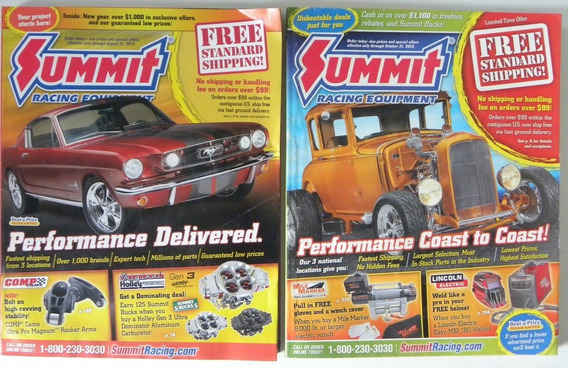 Revista Catalogo Summit Racing (2 Sem Uso) Out2013-ago2014