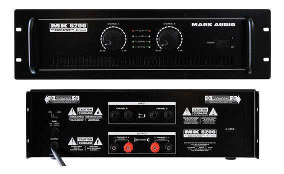 Amplif.markaudio De Potencia Mk6200/c