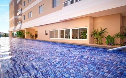 Apartamento Em Parque São Vicente, São Vicente/sp De 46m² 2 Quartos À Venda Por R$ 207.000,00 - Ap707611