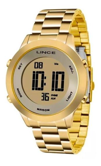 Relógio Lince Feminino E Masculino Digital Redondo Sdph037l