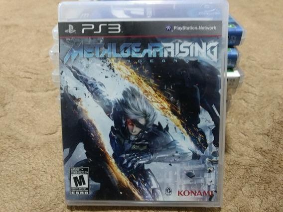 Jogo Ps3 Metal Gear Rising Mídia Física