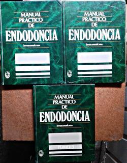 Manual Práctico De Endodoncia 3 Tomos Dr. John Ide Ingle