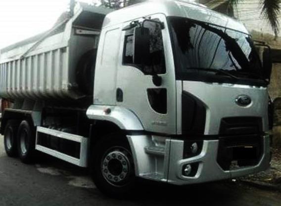 Ford Cargo 2428 Cacamba Completo Ano 2012