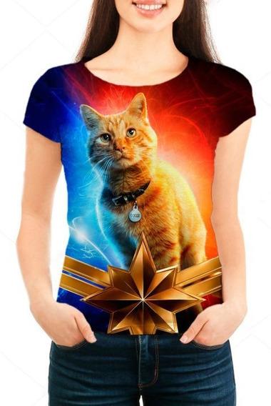 Camiseta Babylook Feminina Gato Goose - Filme - Promoção