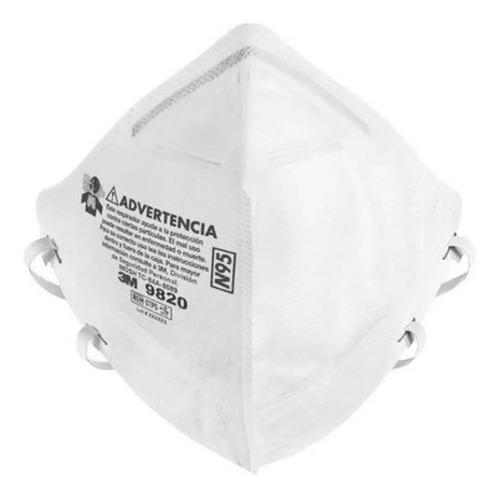 Imagen 1 de 3 de Respirador Para Partículas 3m 9820 N95 Ionlux