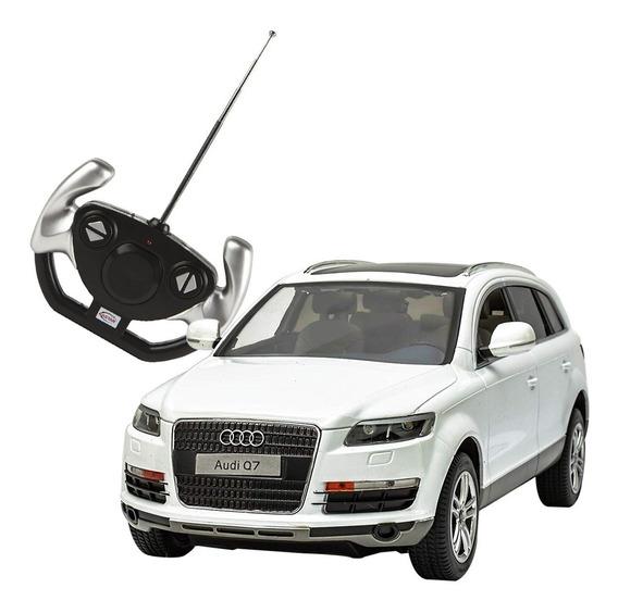 Auto A Escala Audi Q7 1/14 30 Cm + Control Romemut