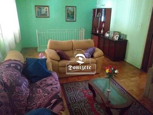 Casa Com 4 Dormitórios À Venda, 370 M² Por R$ 1.400.000,00 - Vila Aquilino - Santo André/sp - Ca1195