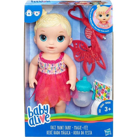 Boneca Baby Alive Hora Da Festa Loira Original Hasbro