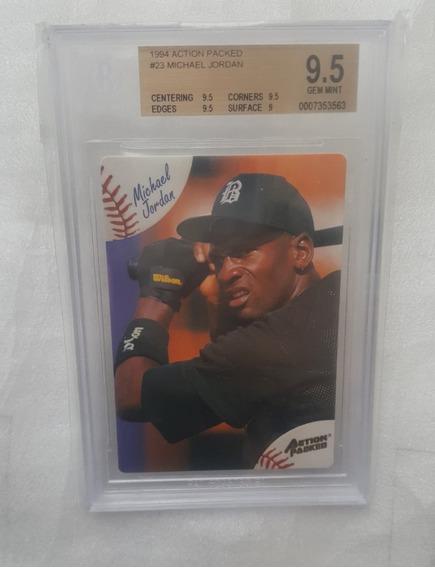 1994 Michael Jordan #23 Baseball White Sox Beckett Bgs 9.5