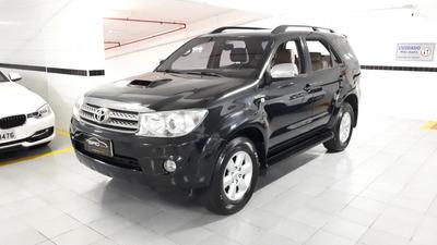 Toyota Hilux Sw4 3.0 Srv 4x4 7 Lugares 2011 Preta Baixo Km
