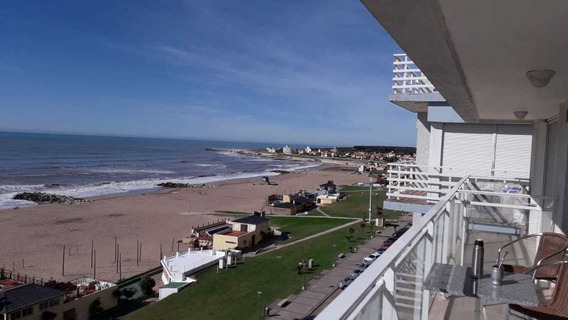 Departamento Frente Al Mar De 2 Ambientes En Miramar Bs As
