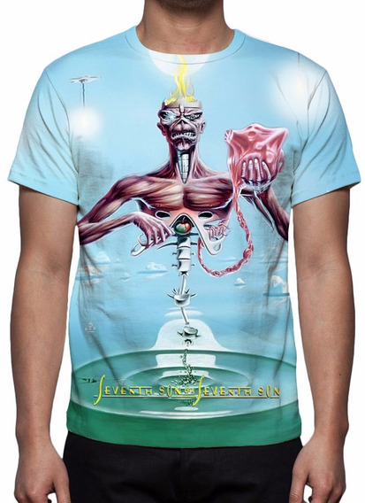 Camisa, Iron Maiden Seventh Son Of A Seventh