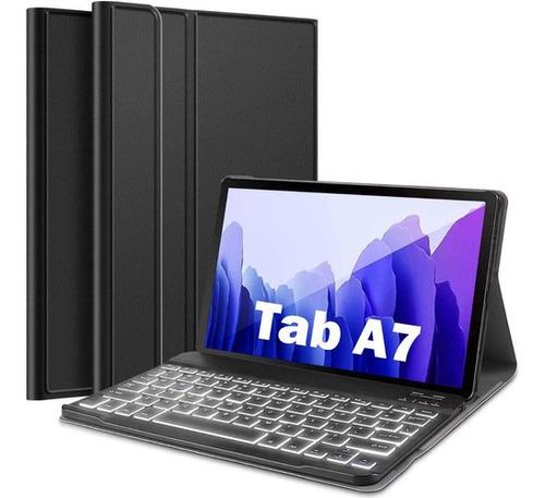 Imagen 1 de 7 de Cubierta Retroiluminada Del Teclado Para Galaxy Tab A8.0 201