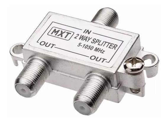 5 Divisor Derivador 1 Antena Sai P/2 Tv Uhf Digital Atacado