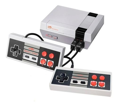 Consola Level Up Retro Nes Av 8 Bits 500 Juegos 2 Joystick