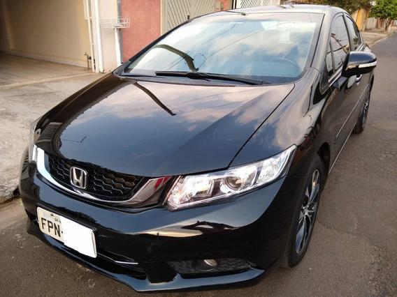 Honda Civic 2.0 Lxr Flex Aut. 4p 2016 Impecável