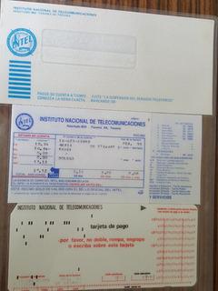 Intel (recibo De Cargo Mes / Telefono)