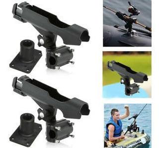 Para Kayak Barco Caña De Pescar Caña Kit De Aparejos Kit 2