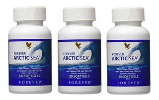 Caixa C/ 3 Unidades De Super Ômega 3 Forever Arctic Sea