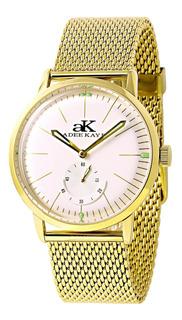 Adee Kaye De Los Hombres Adoran El Oro-tono Reloj De Acero