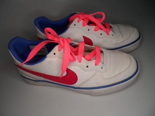 Tenis Nike Swtee Ace 83, Branco Fem, 24 Cent, Import Ocasião