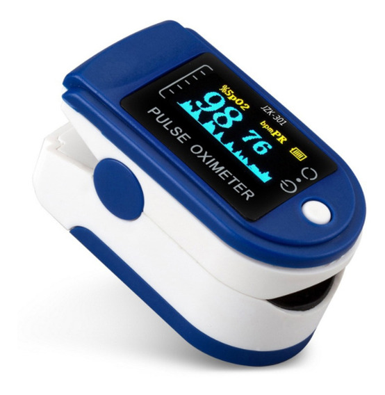 Oled Display Oximeter B-lood Taxa De Pulso De Oxigênio
