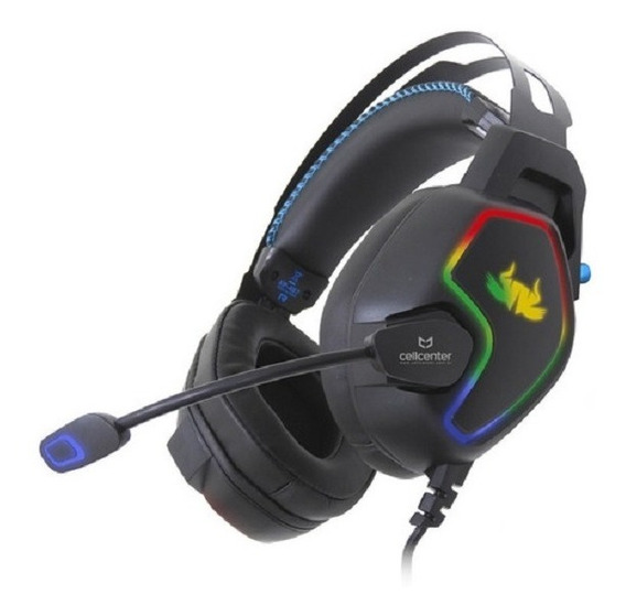 Headset Fone De Ouvido Gamer 7.1 Leds Knup Pc E Ps4 Kp-487