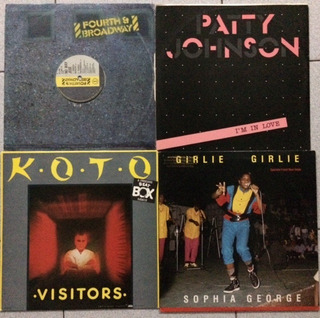 Discos Remix Vinil De Los 80