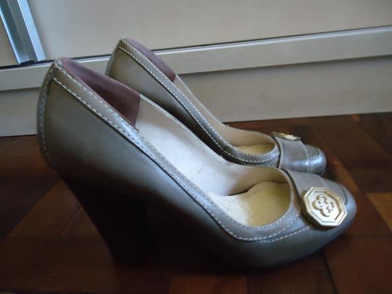 Sapato Salto Grosso Capodarte 34/35